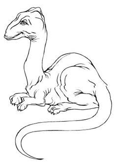 ausmalbild weiblicher dinosaurier zum ausmalen. ausmalbilder   ausmalbilderdinosaurier  