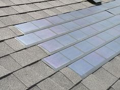 """Solar roofing shingles, also known as """"Building-Integrated Photovoltaics"""" or BIPVs, integrate solar cell technology into asphalt shingles as well as slate, metal, tile and other roofing products."""