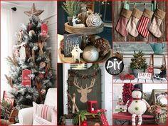 50+ Best DIY Farmhouse Christmas Decor Ideas & Inspiration 2017 - YouTube