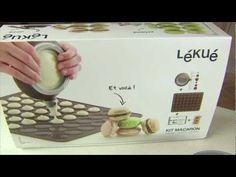 Vídeo receta: Cómo hacer unos perfectos macarons con el set de Lékué. Por @Lékué