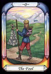 The Fool - Steele Wizard Tarot