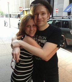 I had a dream last night that I met Patrick