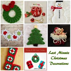 Share this: Christmas is a great time to make gifts and decorations. If you are like me, you quickly make all the gifts and then run out of time to make any decorations for you and the little ones in your life to enjoy! So I have put together this list of quick last minute …