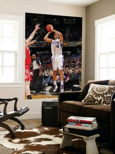 Houston Rockets v Sacramento Kings: Omri Casspi Posters by Rocky Widner - AllPosters.co.uk