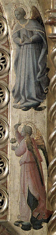 BEATO ANGELICO - Madonna della stella, dettaglio - 1424 - Tempera e oro su tavola - Museo di San Marco, Firenze