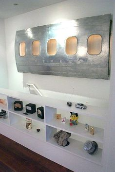Aircraft as decoration