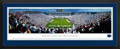 Penn State University Panoramic - Nittany Lions - Beaver Stadium Picture $199.95