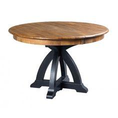 Kincaid STONE RIDGE ROUND DINING TABLE BASE BLACK