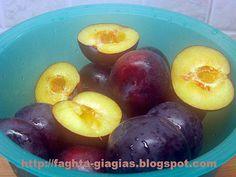 Βανίλια φρούτο γλυκό του κουταλιού - από «Τα φαγητά της γιαγιάς» Frozen Yoghurt, Marmalade, Preserves, Jelly, Food And Drink, Cooking Recipes, Sweets, Chocolate, Fruit