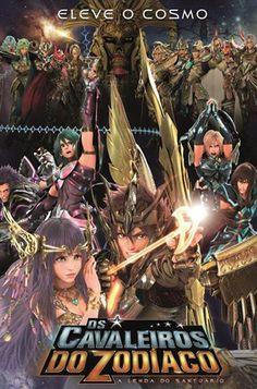 Os Cavaleiros do Zodíaco: A Lenda Do Santuário estreando #HOJE nos cinemas #brasileiros