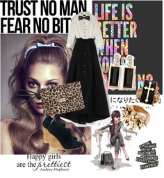 """""""trust no man!"""" by annisadian-1 ❤ liked on Polyvore"""