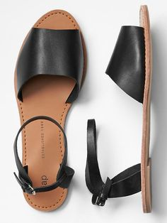 Classic leather sandals at Gap.