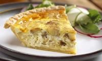 Michigan Apple Recipes - Cheesy Apple Quiche