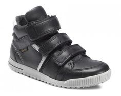 Ecco 734522 Christer Black/Wild Dove Rigtig flot børnesko, som kan bruges til flere arrangementer, skoen er af skind og tekstil med stødabsorberende sål.