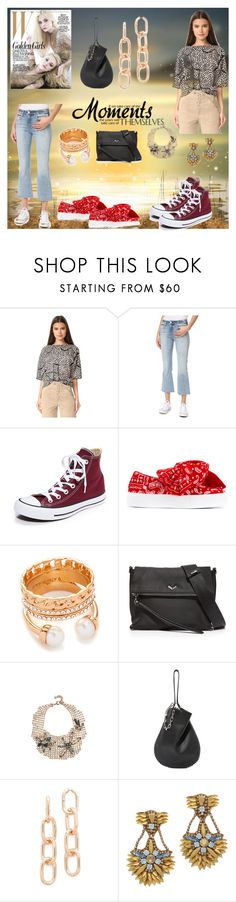 """fashion moments"" by denisee-denisee ❤ liked on Polyvore featuring Zero + Maria Cornejo, AMO, Converse, Joshua's, Vita Fede, Botkier, Lulu Frost, Alexander Wang and Deepa Gurnani"
