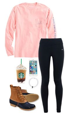 """""""I want to write you a song, one as beautiful as you are sweet"""" by toonceyb ❤ liked on Polyvore featuring мода, Vineyard Vines, NIKE и L.L.Bean"""