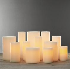 Battery Operated Wax Flameless Pillar Candle - Pictures of Cakes and Candles Pillar Candles Bulk, Warm Glow Candles, Flameless Candles, White Candles, Candle Stand, Candle Set, Candles In Fireplace, Candle Containers, Paraffin Wax