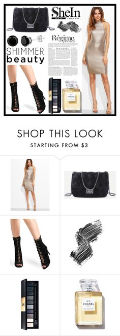 """Shein IV"" by b-necka ❤ liked on Polyvore featuring Anja, Illamasqua, Sheinside and shein"