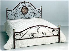 Wrought Iron Bed | Product Code: WIB-004 - wrought-bed category | Bali product…