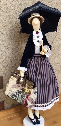Tilda Mary Poppins par TildaTime sur Etsy