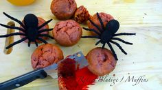 "Halloween 2015 ""Rote (Blutige) Muffins""  Youtube Cooperation"