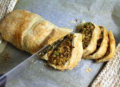 Oppskrift Veganmisjonens Julestek 2013, quinoa Christmas Roast, Vegan Christmas, Veggie Recipes, Mad, Veggies, Quinoa, Desserts, Drinks, Kitchens
