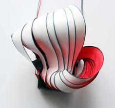 Jewellery Sculptures Paper Art - Lydia Hirte