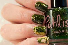 Swirl Marble Autumn Nail Art with Pahlish nail polish Christmas Manicure, Autumn Nails, My Nails, Nail Art Designs, Marble, Nail Polish, Holiday Nails, Nail Polishes, Granite