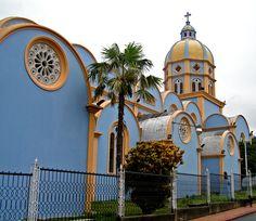Blue Church 2 - Lobatera, Tachira - Venezuela