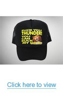 Ted 'Fuck You Thunder...' Trucker Hat #Ted #Fuck #Thunder... #Trucker #Hat