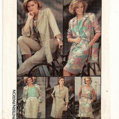 A Coordinates Pattern for Women: Top, Skirt, Pants, Dress & Jacket