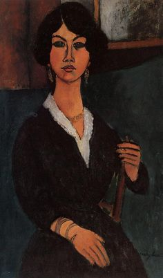 Amadao Modigliani: Almaisa, 1916...just no one like Modgliani