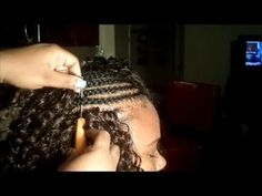 How To: Crochet Braids Step-by-Step Tutorial   X-Pression Cuevana Bounce - YouTube