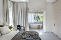 Project Title: East Malvern House by Made By Cohen + Penny Kinsella Architects Image Credits: Shannon McGrath Interior, Master Bedroom Design, Home, Contemporary Home Decor, Modern Bedroom, Australian Interior Design, Bedroom Design Inspiration, Interior Architect, Affordable Design