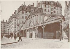 """La Gare basse de la """"Ficelle"""" (ligne A), rue Terme, au début du XXe siècle"""