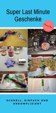 Make Last Minute DIY Gifts - Mission Mom- Last Minute DIY Geschenke basteln – Mission Mom Looking for a last minute gift that you can tinker with your child? Homemade Gifts, Diy Gifts, Practical Gifts, Last Minute Gifts, Valentine Gifts, Your Child, Christmas Diy, Diys, Presents
