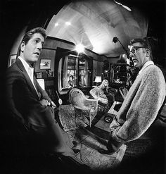 Set of  Who's Afraid of Virginia Woolf ? (1965). Director: Mike Nichols. Photographer: Bob Willoughby.