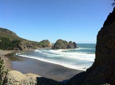 Piha Beach in New Zealand.... spent many wonderful days here
