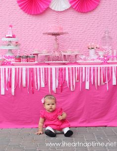 I want to have a big, pretty party for my baby girl next winter!