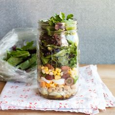 We love our canning jars for everything from storing grains in the pantry to shaking cocktails in the park