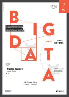 ltt bigdatasmallpictures poster by Lunchtime Talk