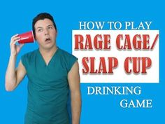 How to Play Rage Cage or Slap Cup by the Game Doctor (Drinking Game)