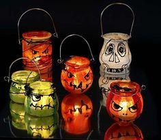 Lanternor med stråsolkespapper
