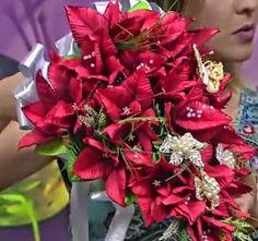 Buquê de noiva EM E.V.A. FLORES Palma de Santa Rita - feito pela Andréia Cristina SOUZA  Material: