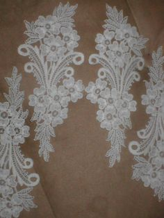 Hey, I found this really awesome Etsy listing at https://www.etsy.com/listing/122940748/lot-of-4-large-imported-venetian-lace