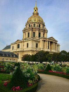 Paris - Le Invalides; home of Napolean's Tomb