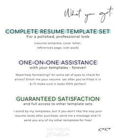 Resume template for Word Instant download Resume Modern   Etsy One Page Resume Template, Modern Resume Template, Cv Template, Resume Templates, Microsoft Word 2007, My Resume, Cover Letter Template, Creative Resume, Professional Resume