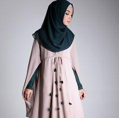 Hijab Syar'i Modern untuk ke Pesta Pernikahan