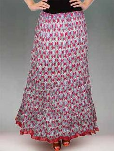 1000  images about Unnati Silks Cotton Long Skirts Online Shopping ...