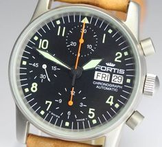 Fortis フォルティスフリーガークロノグラフ622.10.141AT 136261 時計 Watch Antique ¥59800yen 〆10月03日